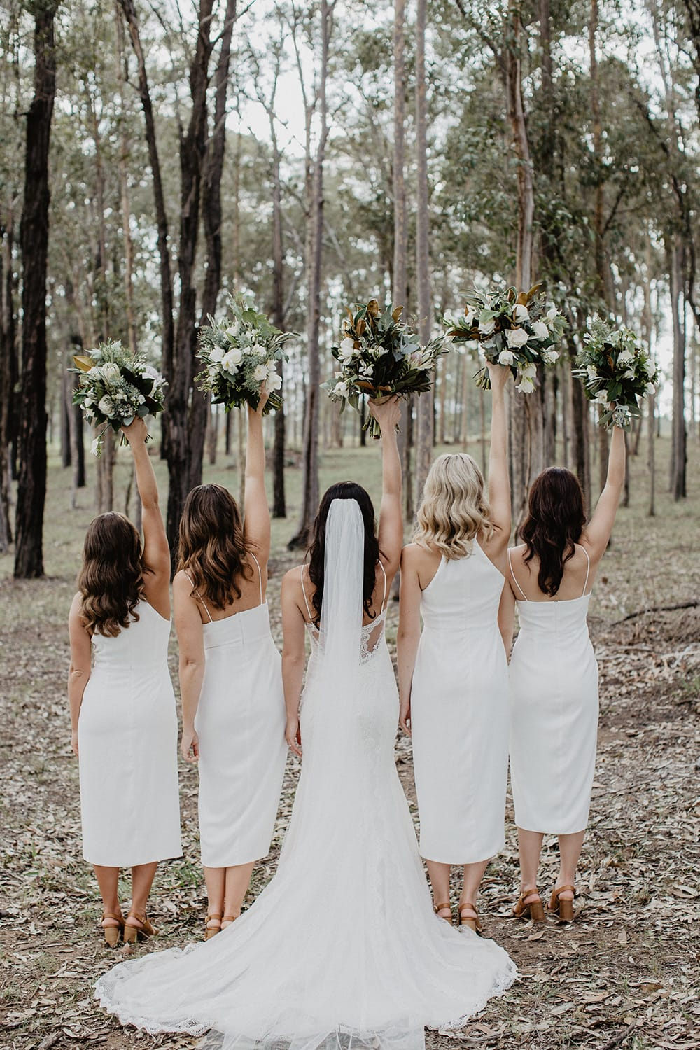 10 Fun Things to Do on Your Wedding Morning with Your Bridesmaids | Photography: Samuel Jacob Photography