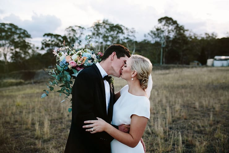 A High Country Wedding with 'Something Blue' Bridesmaids |Jessica Turich Photography