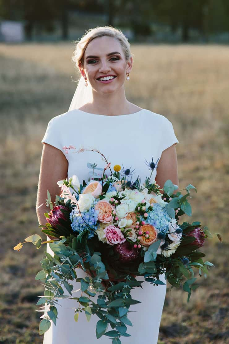 A High Country Wedding with 'Something Blue' Bridesmaids | Jessica Turich Photography