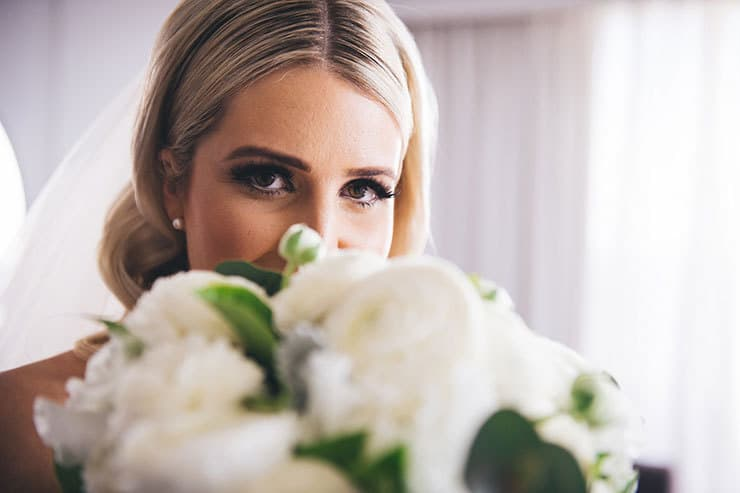 A Modern Classic Wedding in Green and White | Luna Imagery