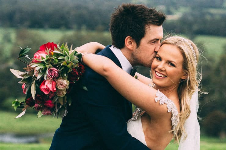 Emma & Ryan's Relaxed Floral Estate Wedding