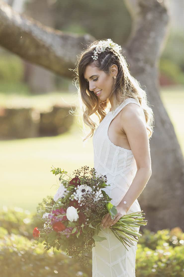 A Rustic Bohemian Warehouse Wedding |Fields & Skies