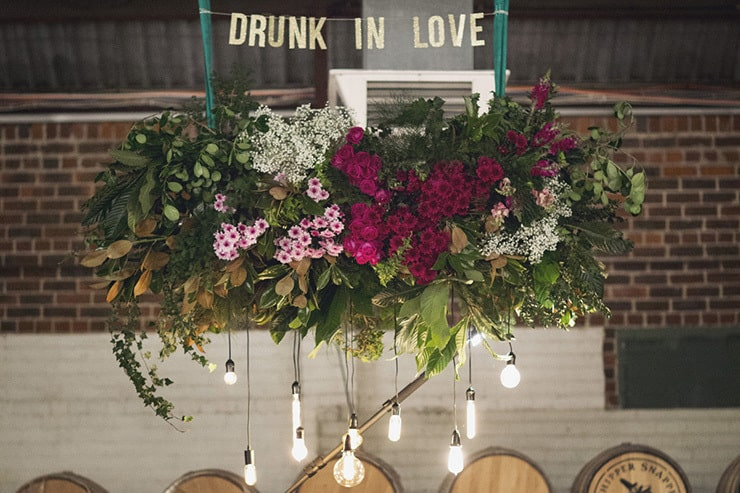 A Rustic Bohemian Warehouse Wedding | Fields & Skies