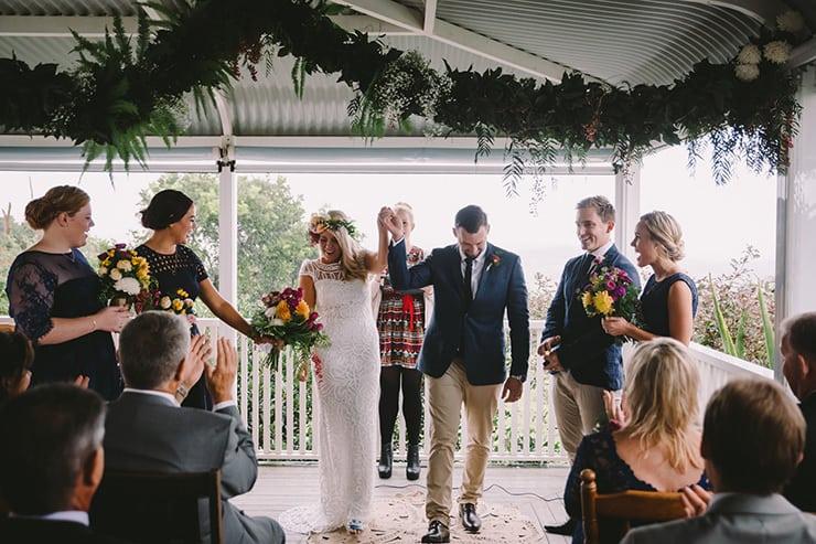 A Warm and Bright Winter Hinterland Wedding