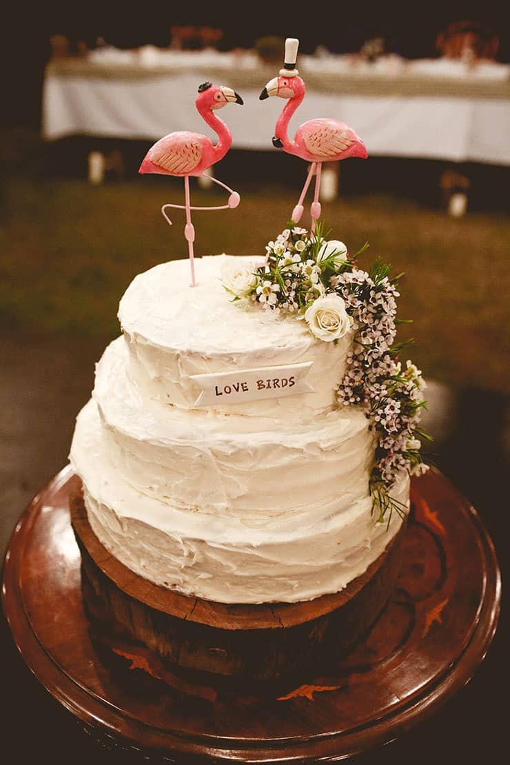 Amazing-Wedding-Cakes-Buttercream-Flamingo-Topper