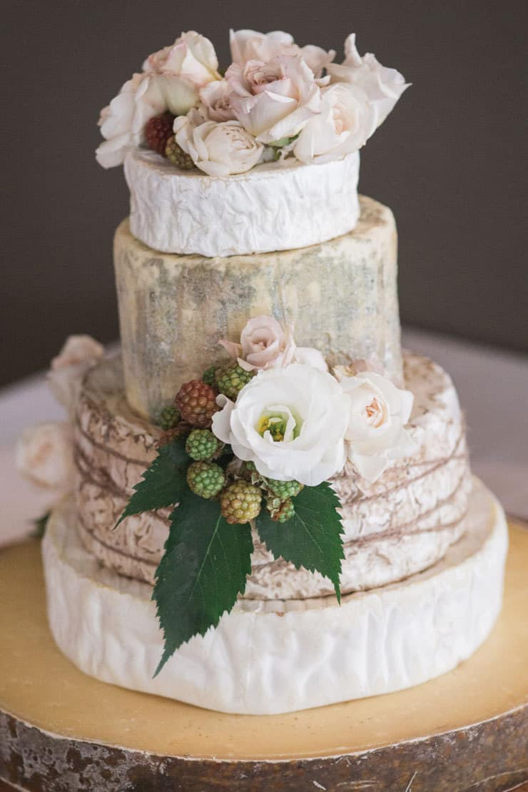 14 amazing wedding cakes to tantalise your tastebuds the wedding amazing wedding cakes cheese wheels roses junglespirit Gallery