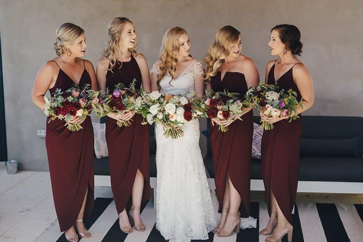 Leah & Callum's Artistic Warehouse Wedding