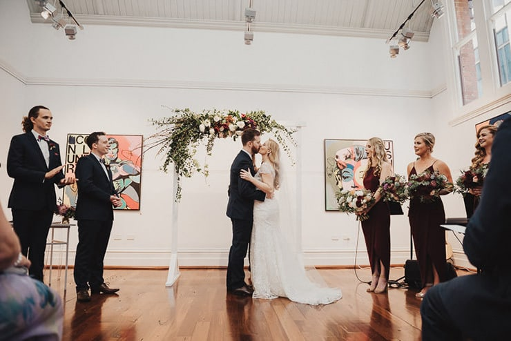 Artistic Warehouse Wedding | iZO Photography