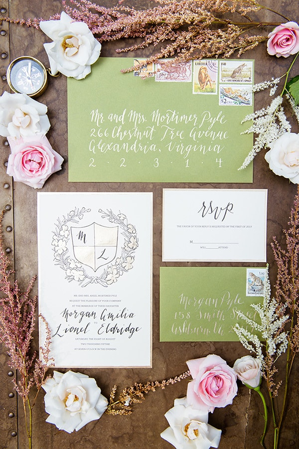 Awkward Wedding RSVP Conversations | Traci J. Brooks Studios via Glamour & Grace