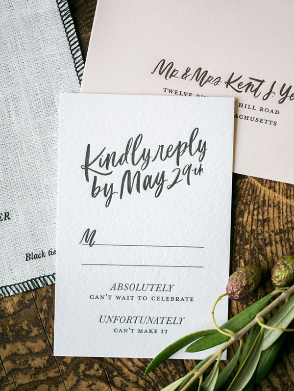 Awkward Wedding RSVP Conversations | Arielle Doneson Photography via Oh So Beautiful Paper