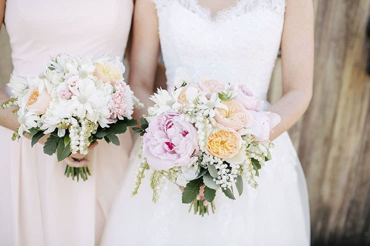 Beautiful-Wedding-Bouquet-Subtle-Elegance-Pink-Peach-White-Flowers
