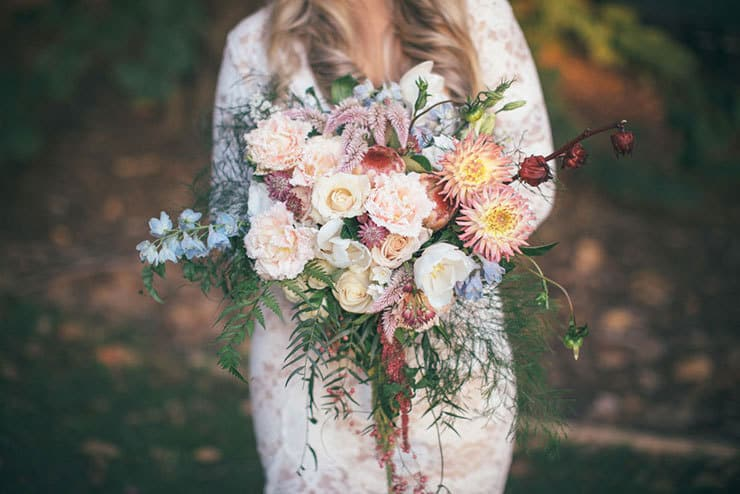 Beautiful-Wedding-Bouquet-Subtle-Elegance-Pink-Sky-Blue-Red-Flowers
