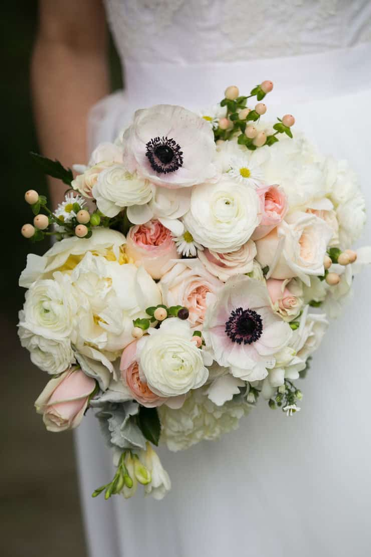 Beautiful-Wedding-Bouquet-Subtle-Elegance-Pink-White-Black-Flowers