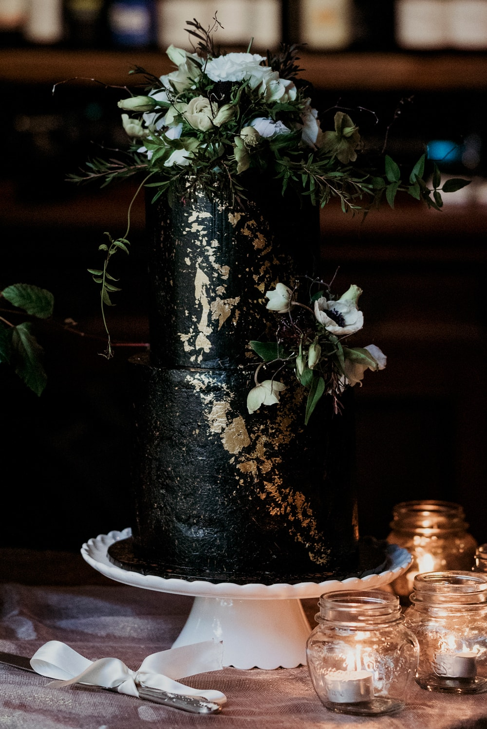 Striking Black & Forest Green Wedding Inspiration | Photography: New Black Studios