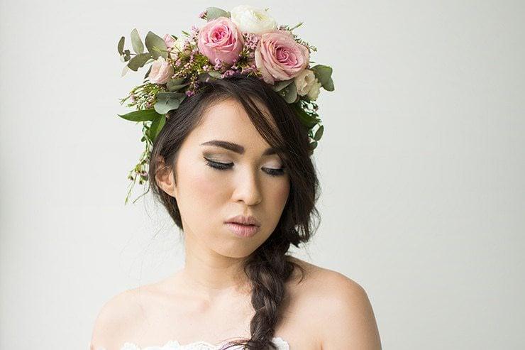 Blushing Bohemian | Brisbane Wedding Hair & Makeup