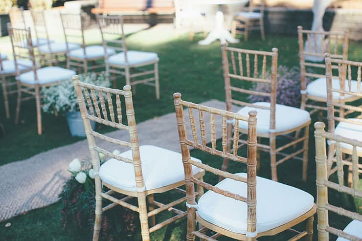 091b8d6a1716 ... Bohemian luxe wedding ceremony chairs