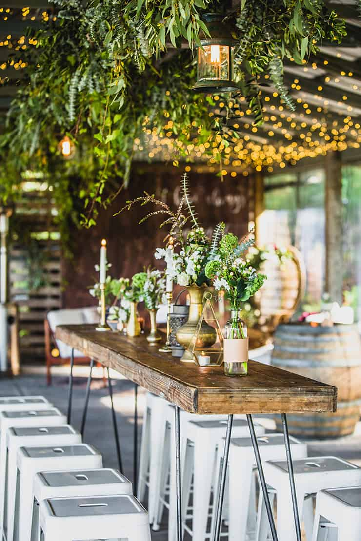 Gorgeous Wedding Reception Centrepiece Ideas   Curly Tree Photography