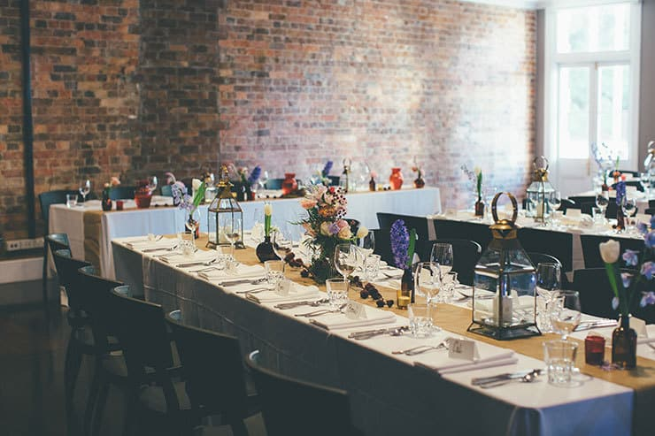 683062becfbd Bohemian luxe wedding reception styling ...