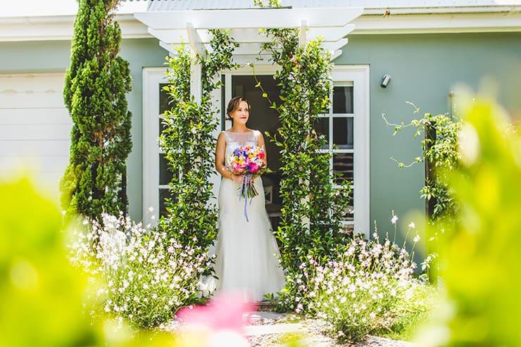 Bold-Bright-Floral-Wedding-Bride-Bouquet-Getting-Ready