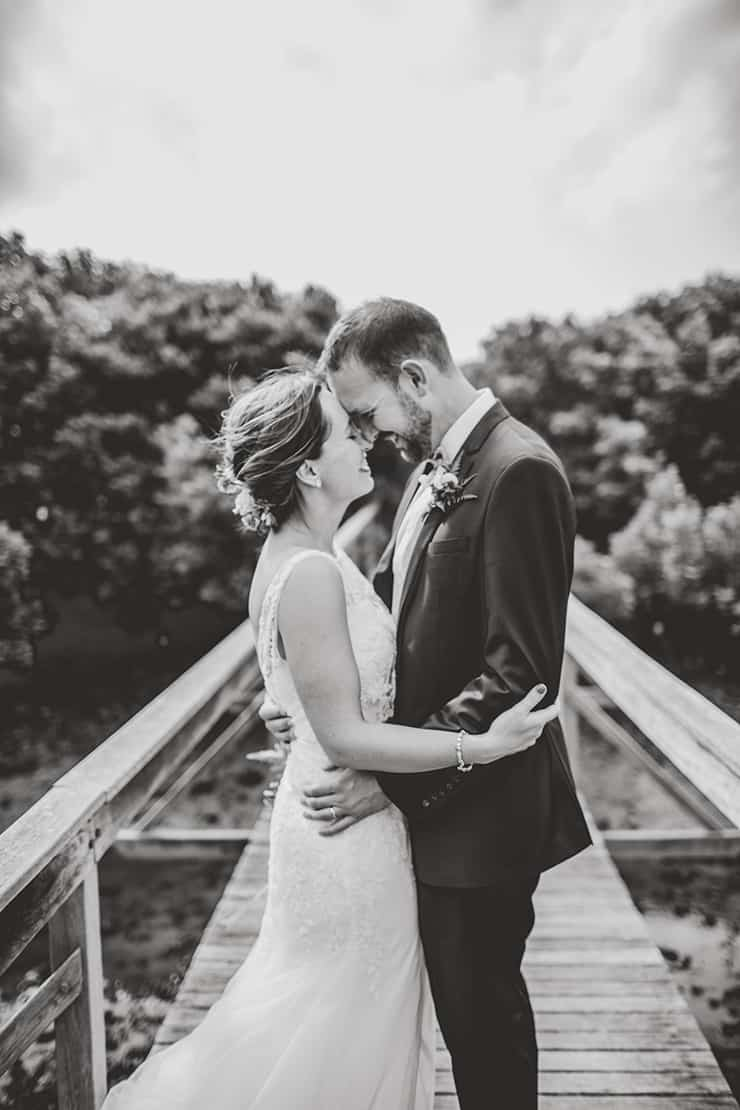 Bold-Bright-Floral-Wedding-Bride-Groom-Portrait-Black-White-2