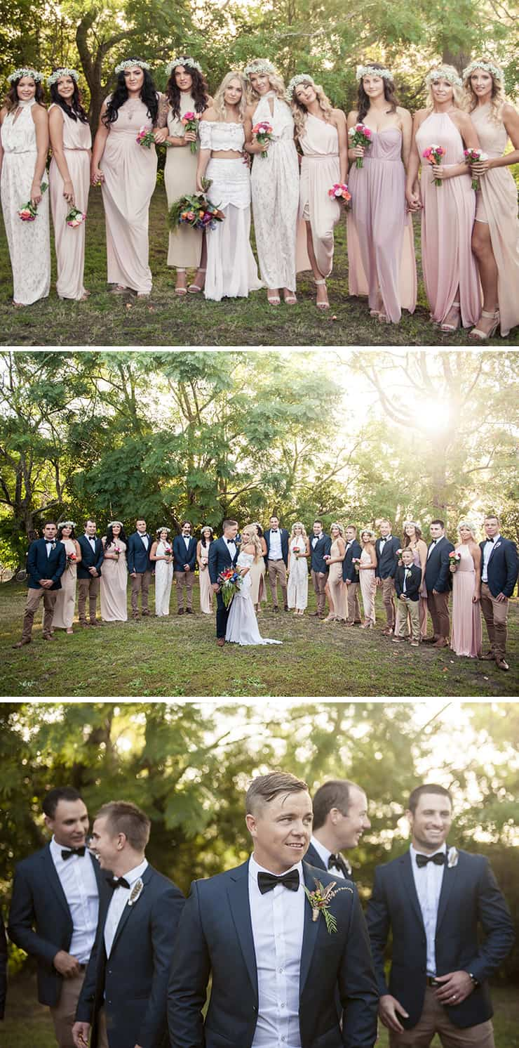 32 Bridal Party Outfit Ideas That Will Make Everyone Look