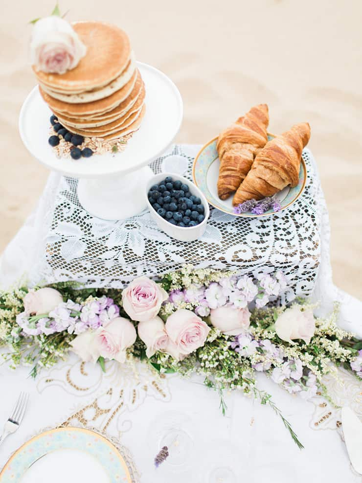 Breakfast Engagement Shoot