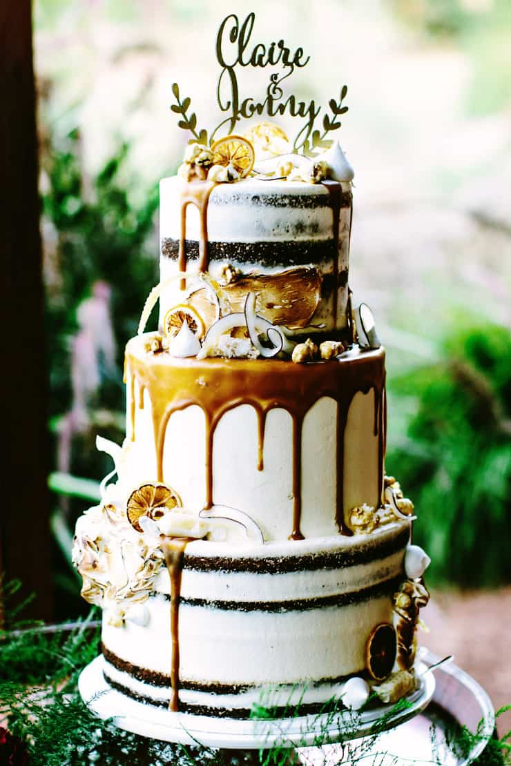Creative Wedding Cakes | Bianca Kate Photography