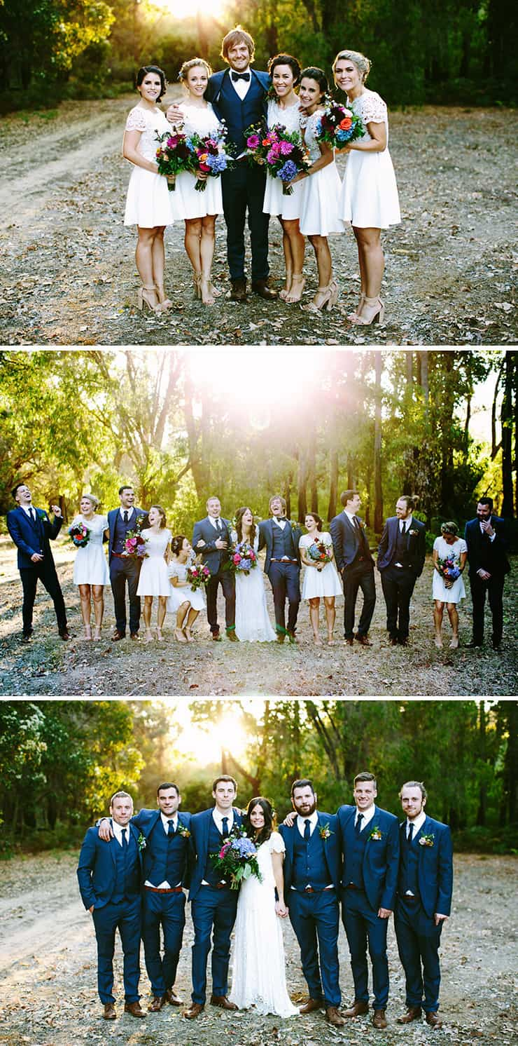 Bridal Party Outfit Ideas | Bianca Kate Photography