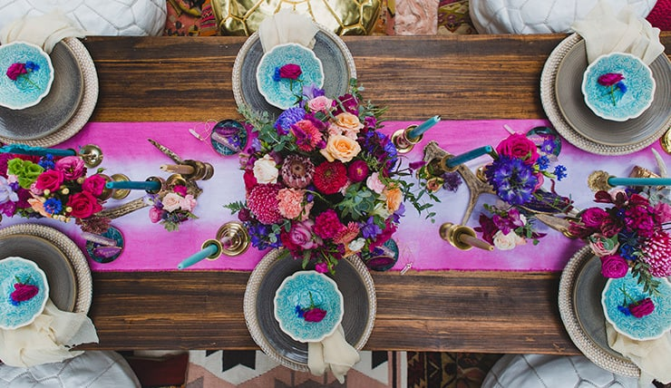 Gorgeous Wedding Reception Centrepiece Ideas | Just For Love Photography