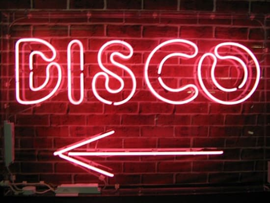 Disco pink neon sign | Neon Creations