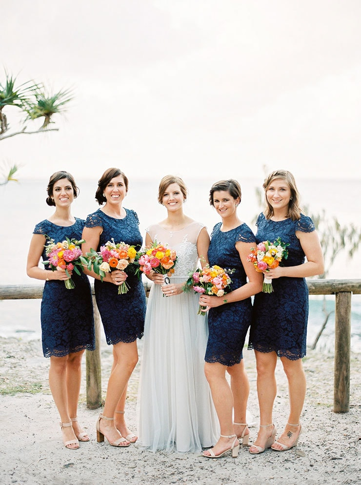 Bright-Waterfront-Cocktail-Wedding-Bride-Bridesmaids-3