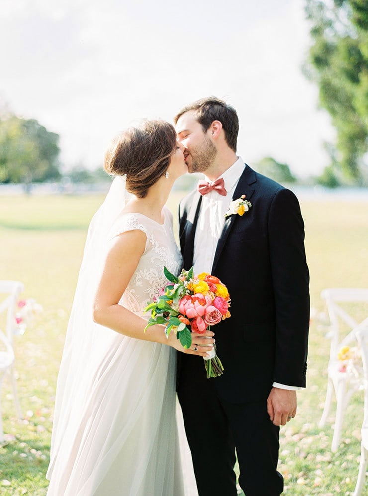Bright-Waterfront-Cocktail-Wedding-Bride-Groom-Ceremony