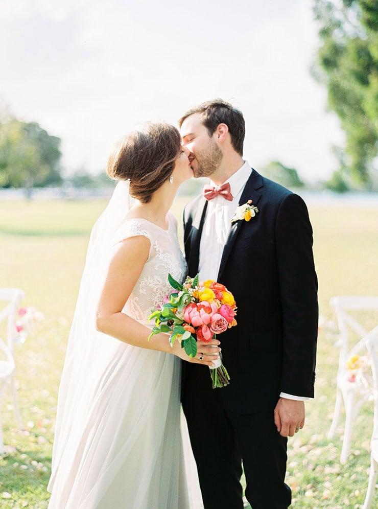Bright-Waterfront-Cocktail-Wedding-Bride-Groom-Ceremony