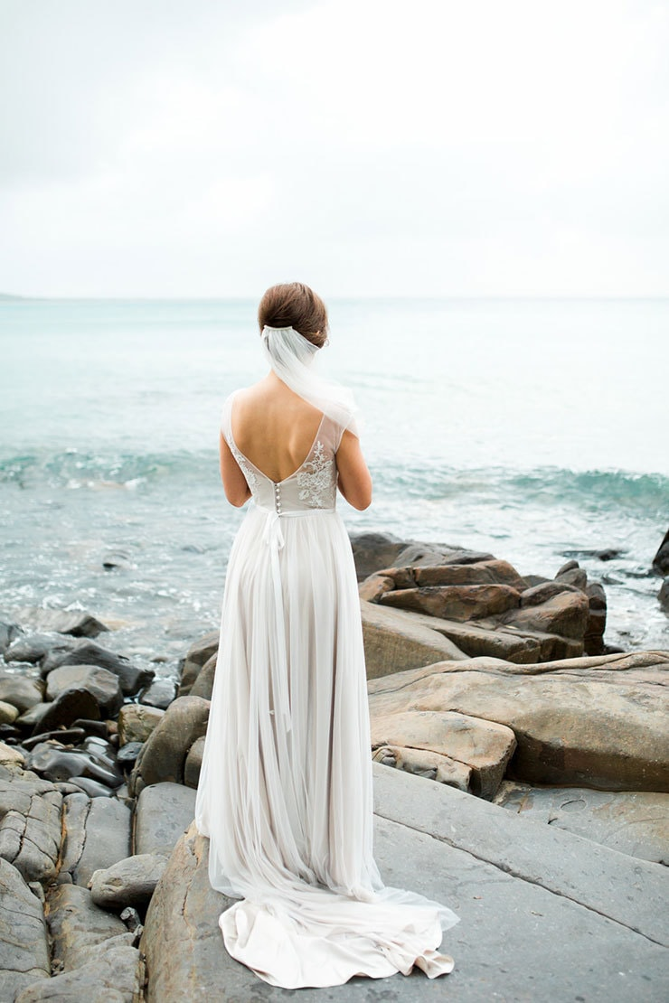Bright-Waterfront-Cocktail-Wedding-Dress-2