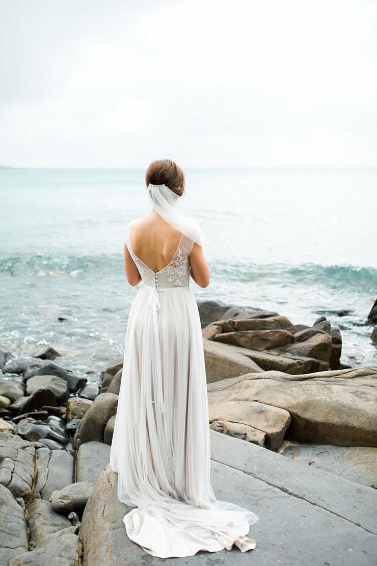Bright-Waterfront-Cocktail-Wedding-Dress-2