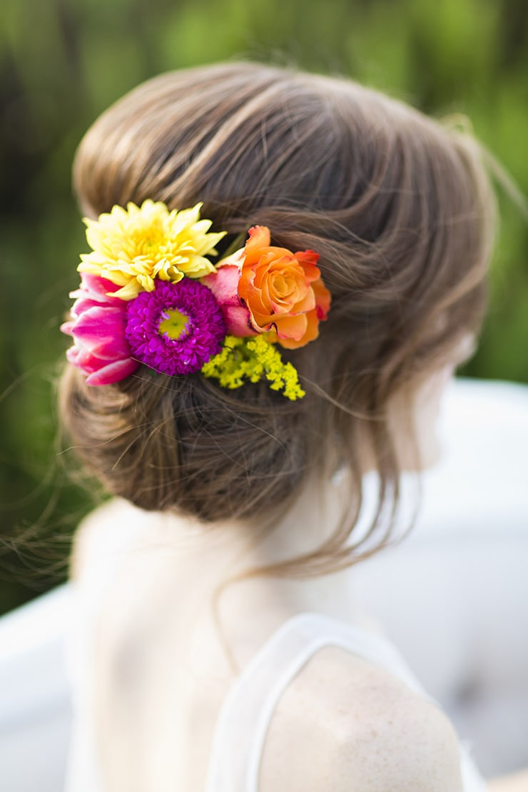 Heavenly Wedding Hair Ideas | Lyndal Carmichael Photography