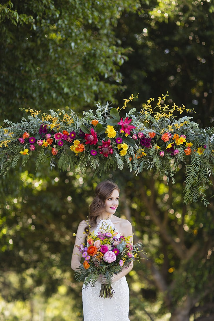 Bright Wedding Ideas | Lyndal Carmichael Photography
