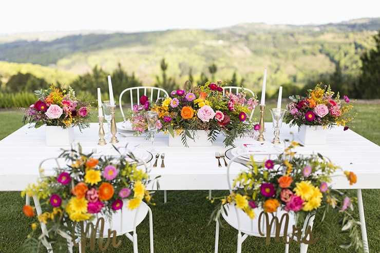 Gorgeous Wedding Reception Centrepiece Ideas | Lyndal Carmichael Photography