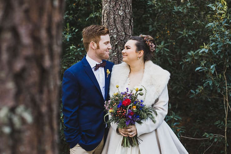 A Bright And Whimsical Vintage Wedding