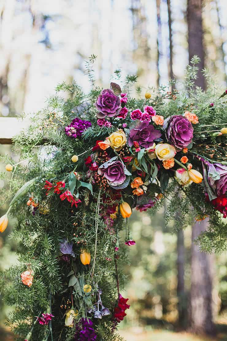 Holly & Brad's Bright & Whimsical Vintage Wedding