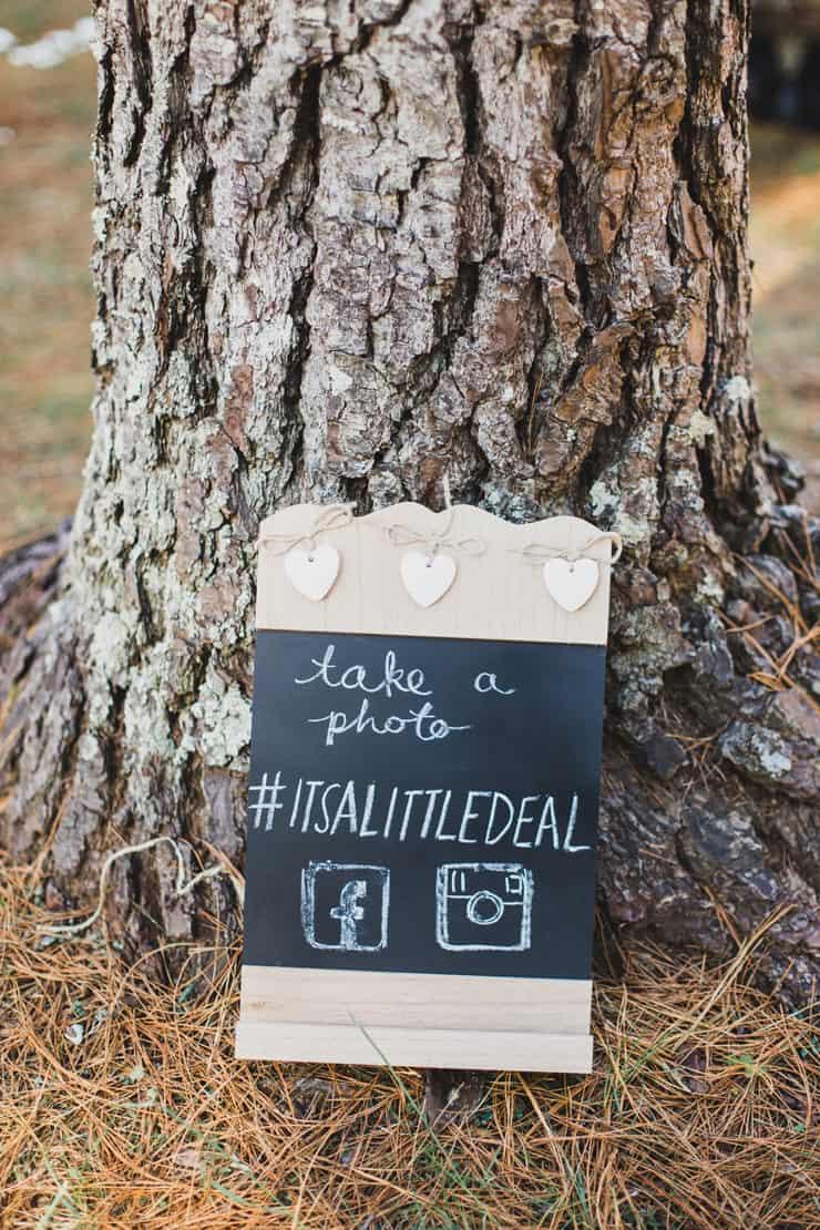 Bright-Whimsical-Vintage-Wedding-Hashtag