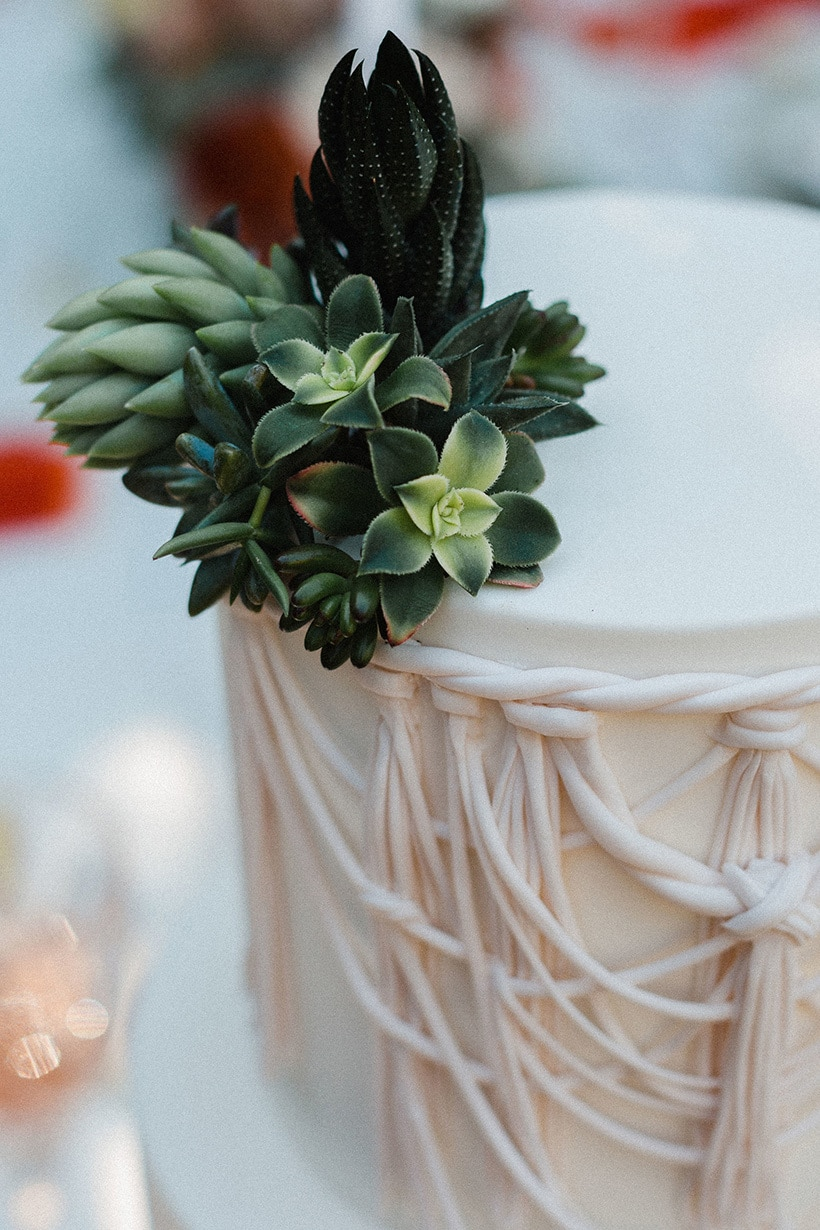 Boho Desert Wedding Inspiration In Burnt Orange