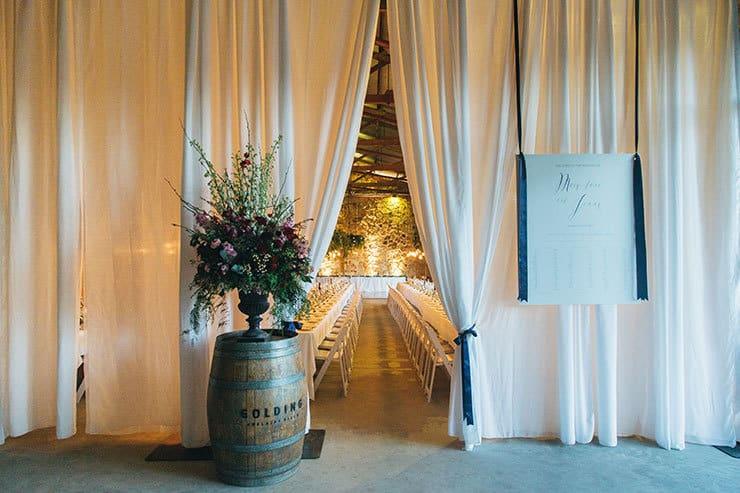 Mary-Jane & Jonny's Champagne & Navy Winery Wedding