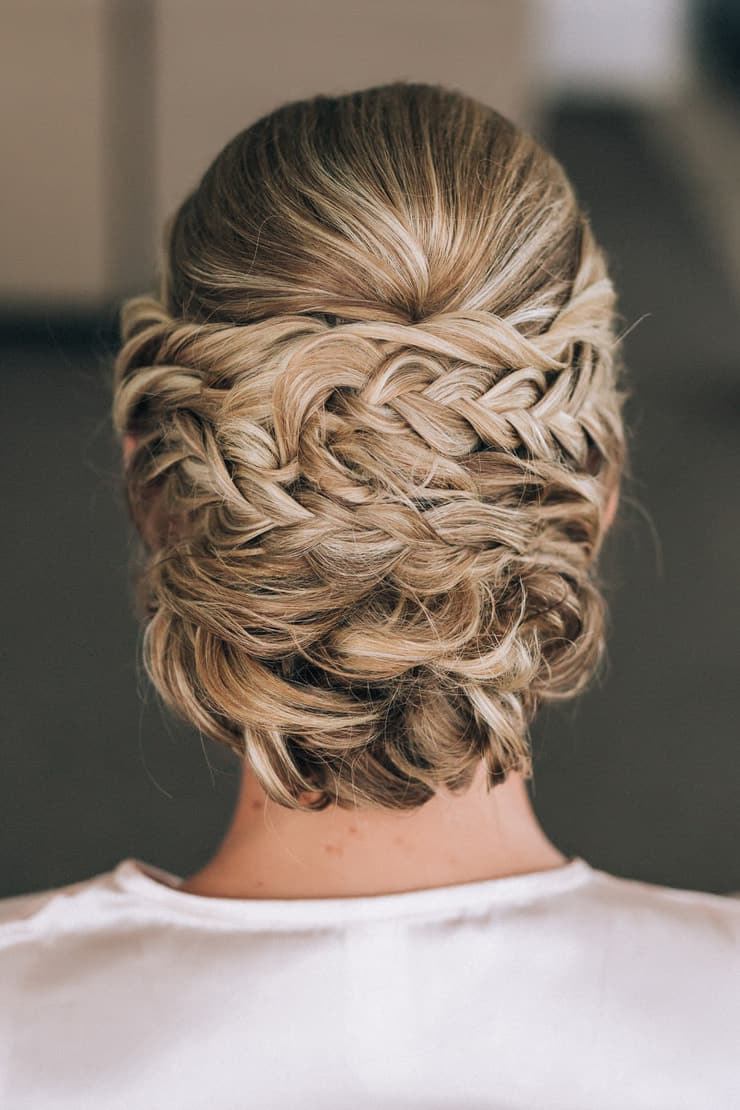 These romantic updos and relaxed down styles offer plenty of inspiration for a beautiful bridal look.