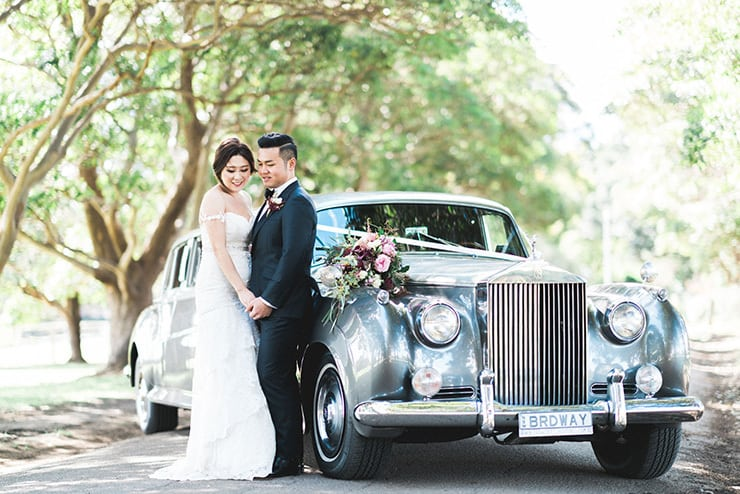 Jacqueline & James' Chic Rustic Waterfront Wedding