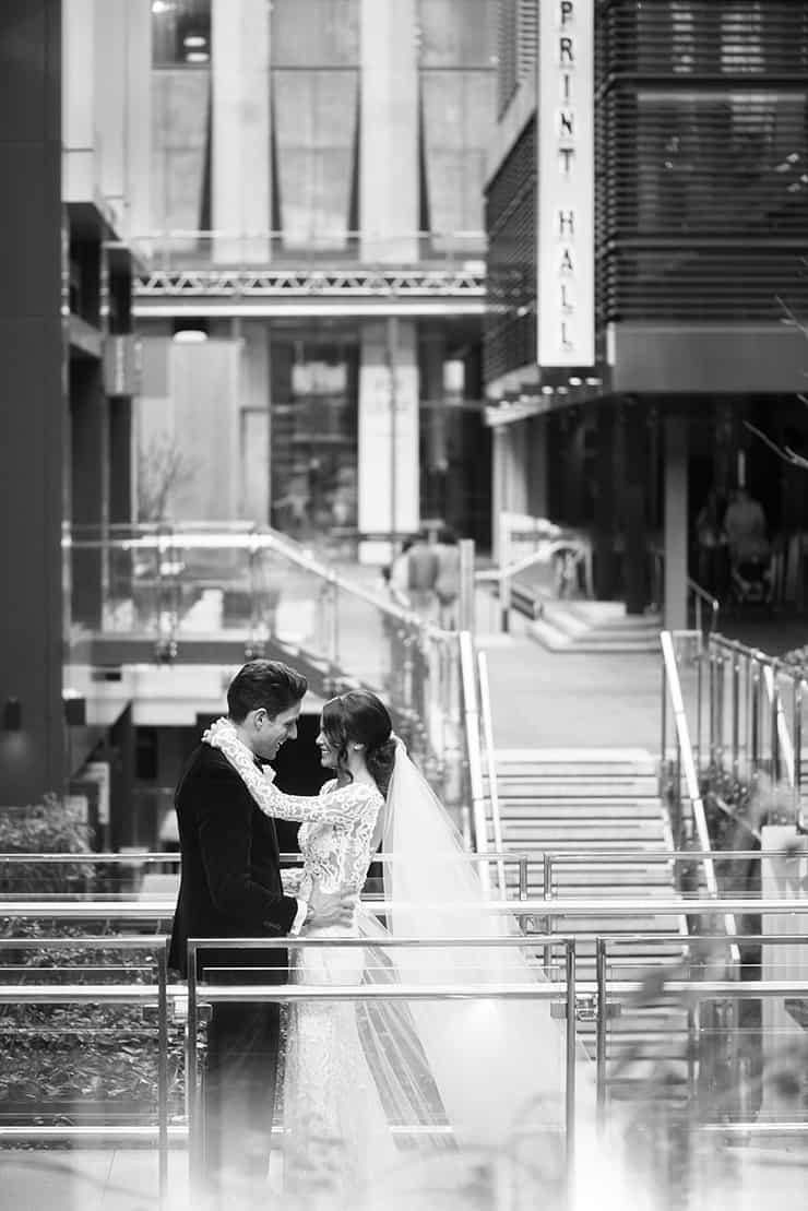 Classic Black Tie City Wedding  DeRay & Simcoe