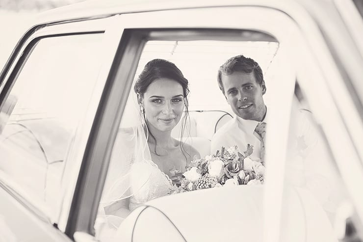 Classic-Country-Romance-Wedding-Bride-Groom-Car-2