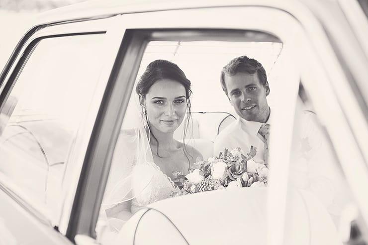 Classic-Country-Romance-Wedding-Bride-Groom-Car-2