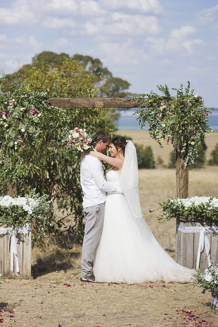 Classic-Country-Romance-Wedding-Bride-Groom-Ceremony