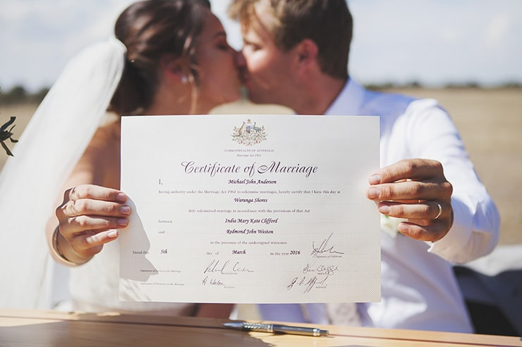 Classic-Country-Romance-Wedding-Ceremony-Marriage-Certificate